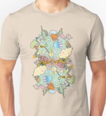 Puffer Puffing On A Water Pipe Unisex T-Shirt