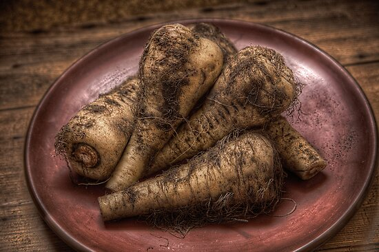 Parsnips by David Milnes