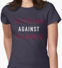 Cleveland Against the World Women's Fitted T-Shirt