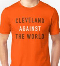 Cleveland Against the World - Browns Colors - Orange Unisex T-Shirt