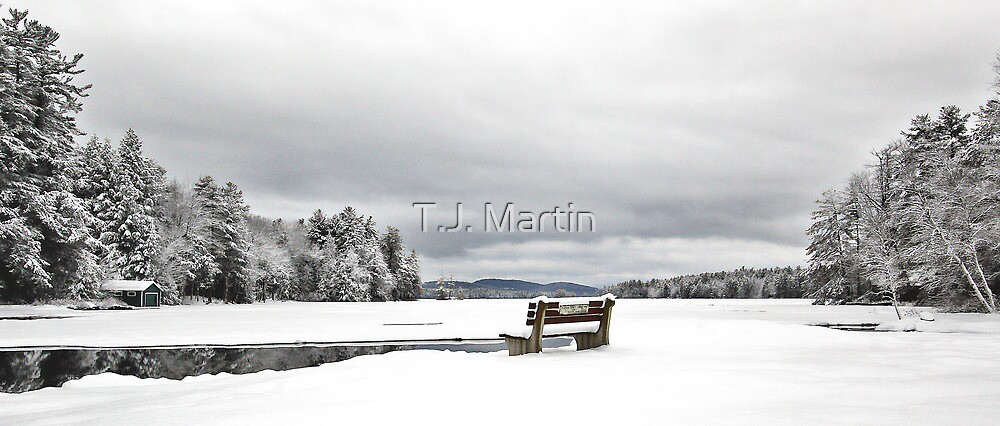 Open Water - Highland Lake by T.J. Martin