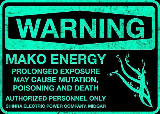 Warning: Mako Energy by merimeaux