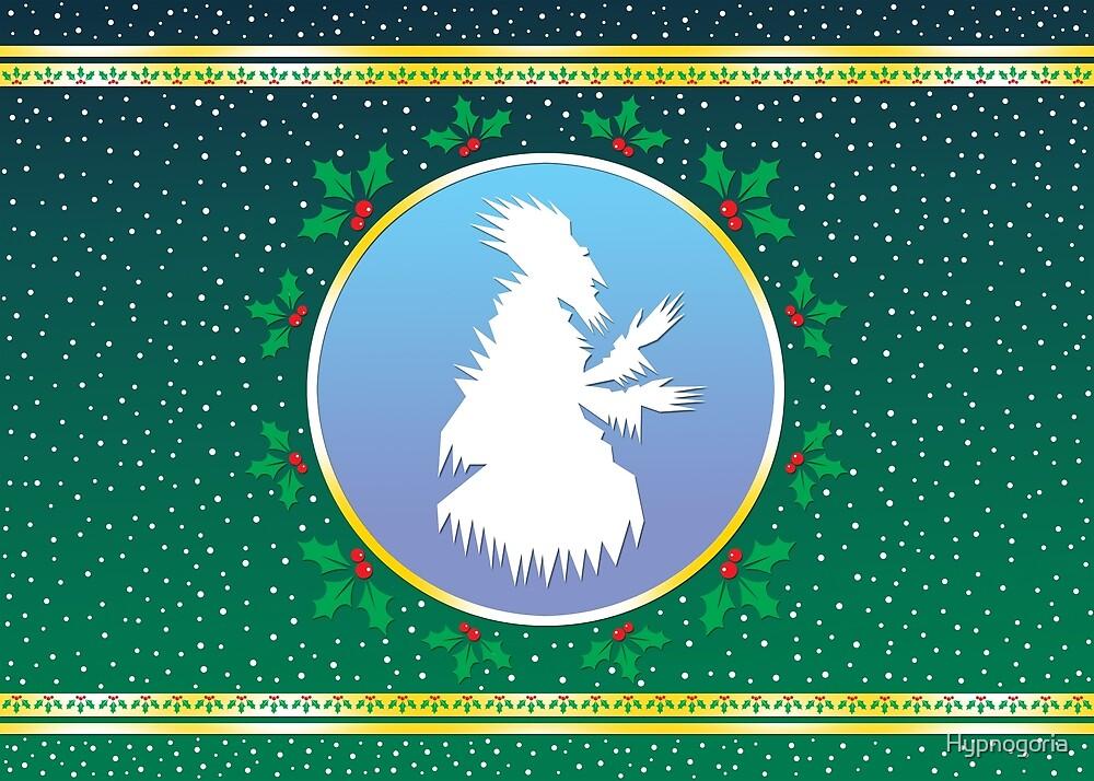 Jack Frost - Tree-Green Fresco  by Hypnogoria