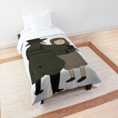The Woodsman and Daughter Comforter