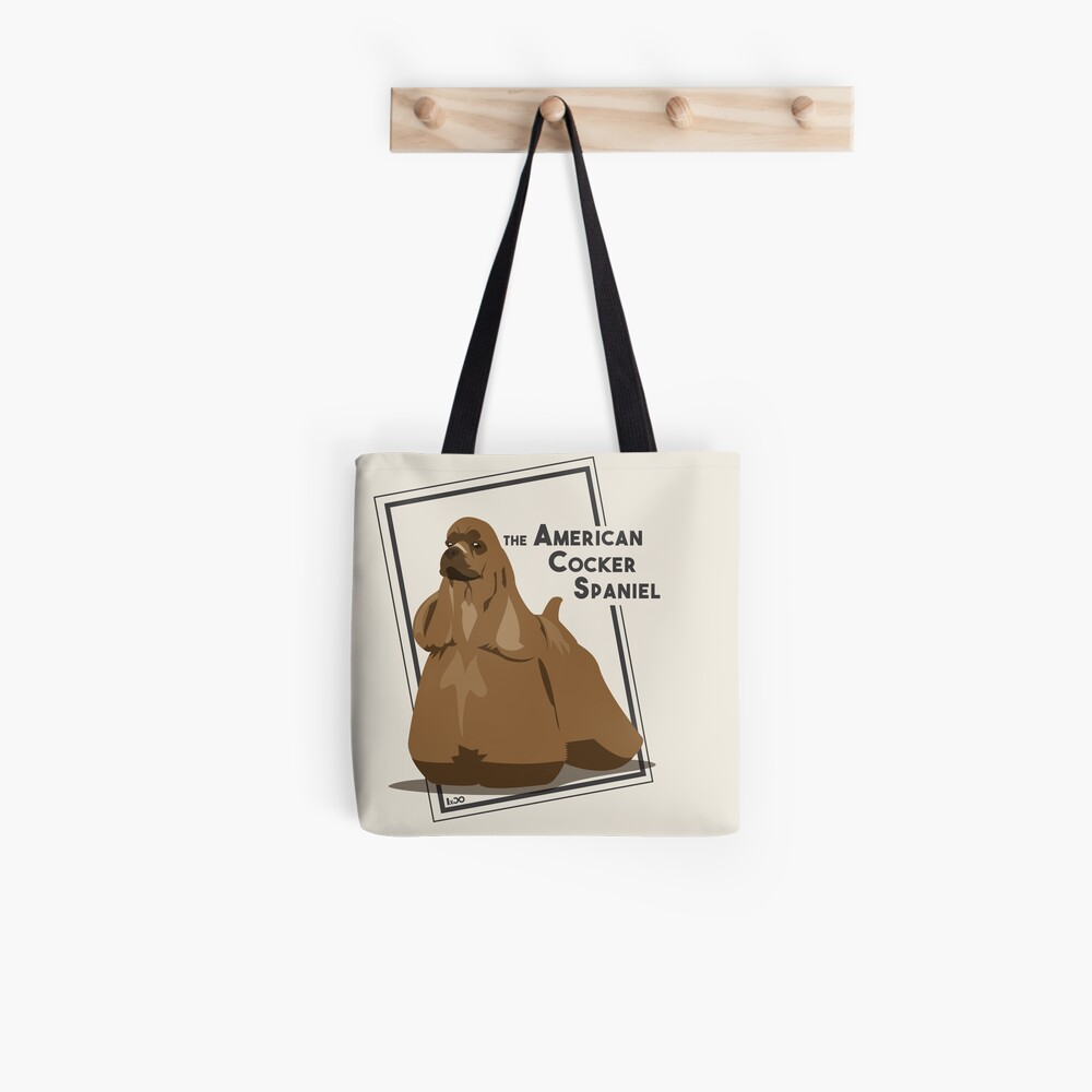 Tote bag « The American Cocker Spaniel by IxCÖ»