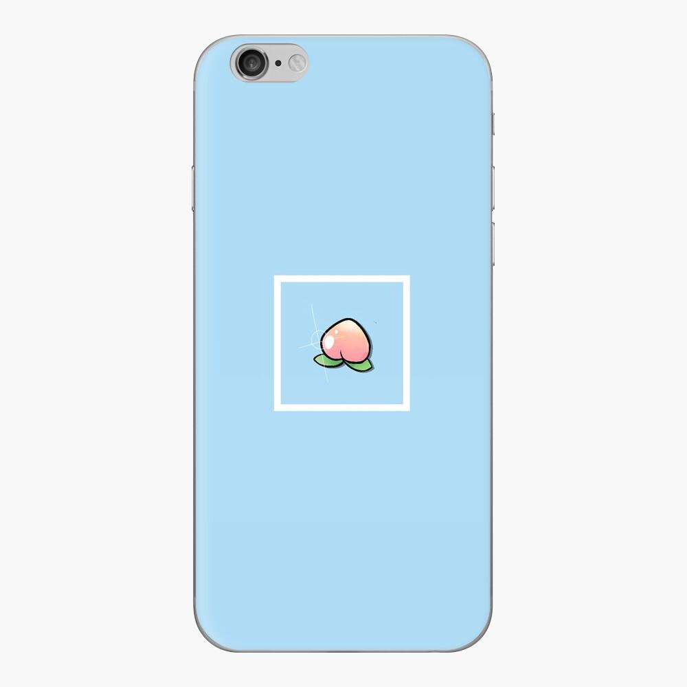 Peachy Keen - Bordered iPhone Klebefolie