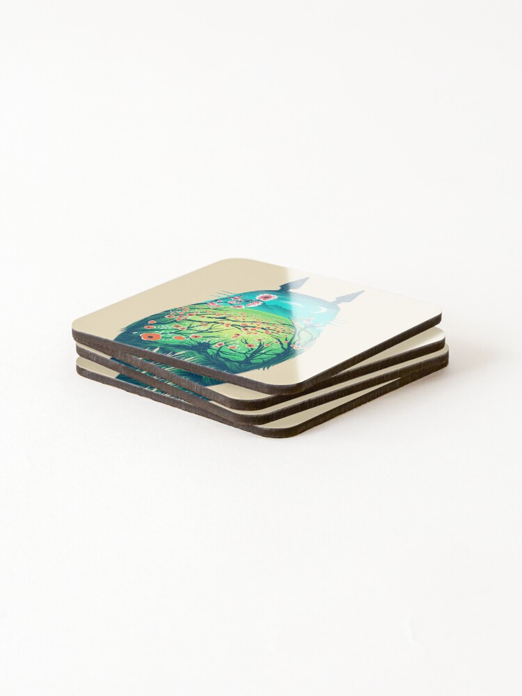 Alternate view of He is my Neighbor Coasters (Set of 4)