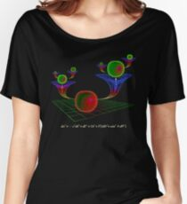 WORMHOLES Women's Relaxed Fit T-Shirt
