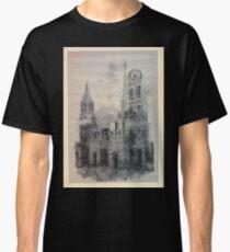 Auguste Lepère Façade of Rouen Cathedral by Auguste Lepère Classic T-Shirt