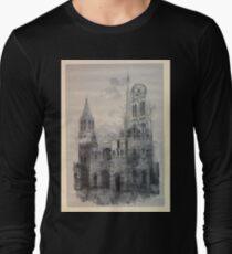 Auguste Lepère Façade of Rouen Cathedral by Auguste Lepère T-Shirt