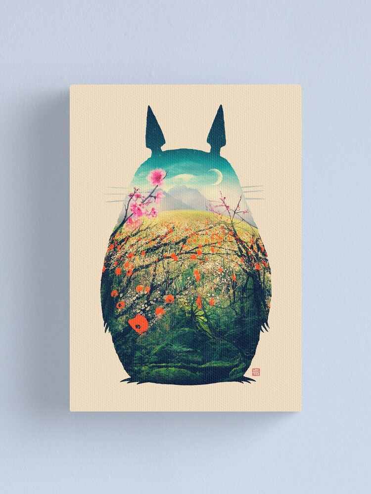 Alternate view of Tonari No Totoro Canvas Print