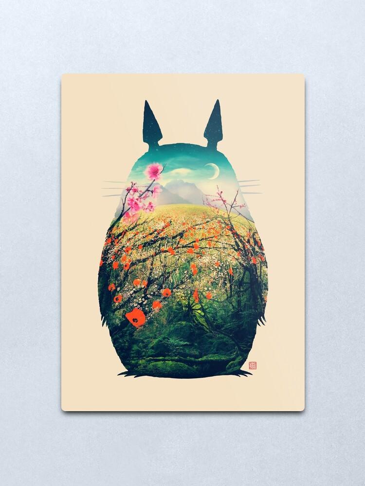 Alternate view of Tonari No Totoro Metal Print