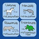 Unicorny McUnicornface (Horned Warrior Friends) by jezkemp