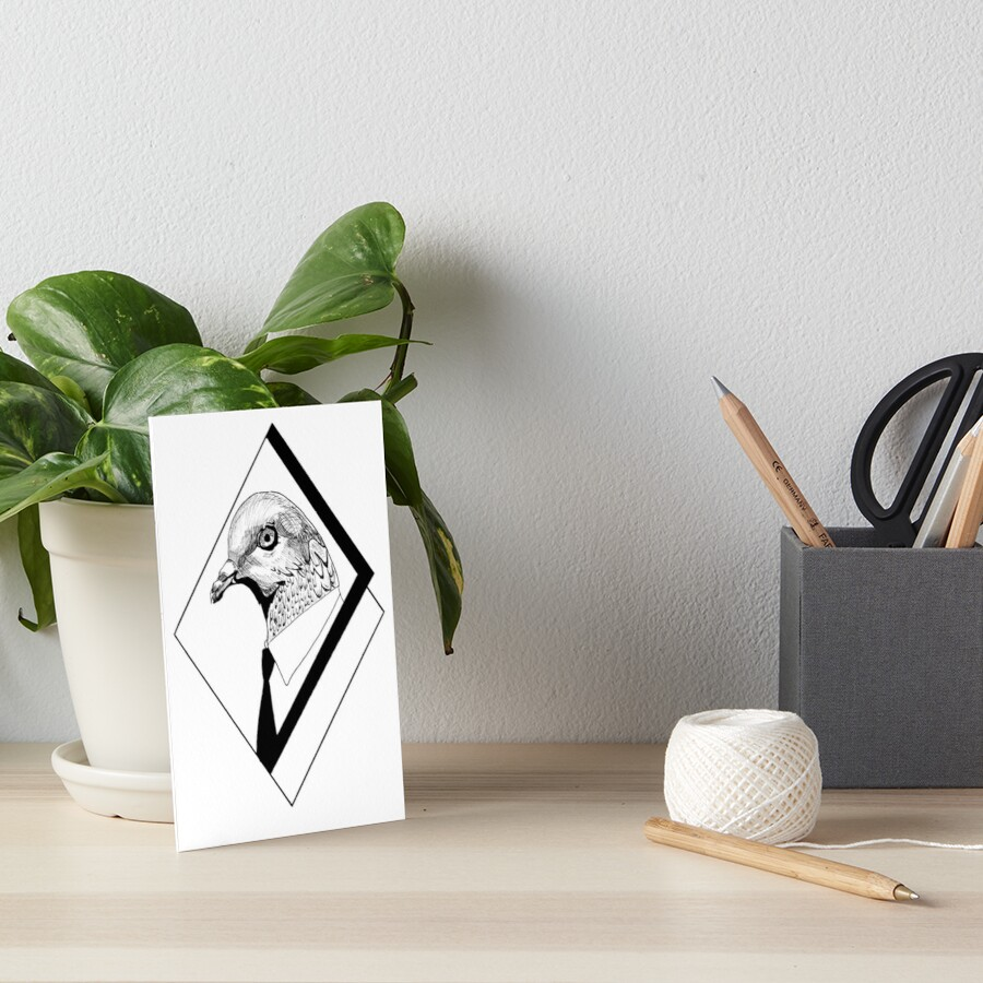 Mindless Art Board Print