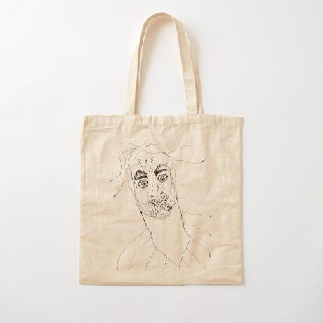 BAANTAL / Hominis / Faces #7 Cotton Tote Bag