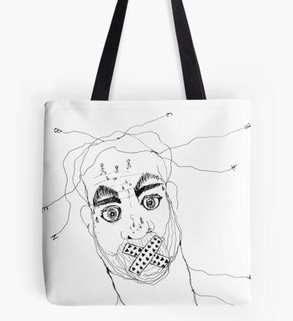 BAANTAL / Hominis / Faces #7 Tote Bag