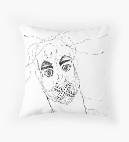 BAANTAL / Hominis / Faces #7 Floor Pillow