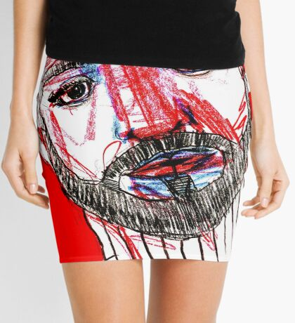 BAANTAL / Hominis / Faces #11 Mini Skirt