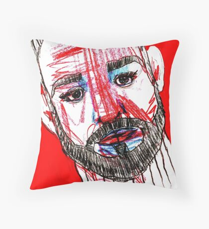 BAANTAL / Hominis / Faces #11 Throw Pillow