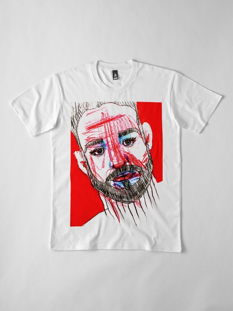 Alternate view of BAANTAL / Hominis / Faces #11 Premium T-Shirt