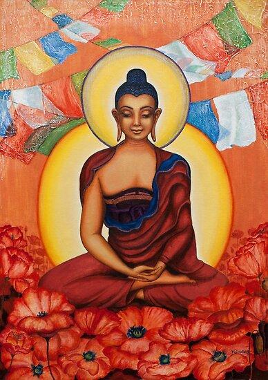 Buddha by Yuliya Glavnaya