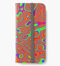 Abstract random colors #3 iPhone Wallet/Case/Skin