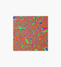 Abstract random colors #3 Art Board Print