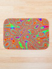 Abstract random colors #3 Bath Mat