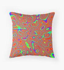 Abstract random colors #3 Floor Pillow