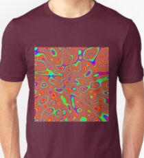 Abstract random colors #3 Slim Fit T-Shirt
