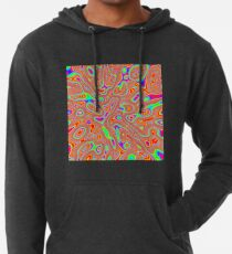 Abstract random colors #3 Lightweight Hoodie