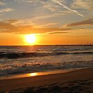 Sunset - Playa del Rey by Gloria Abbey