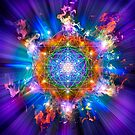 Sacred Geometry 37 by Endre