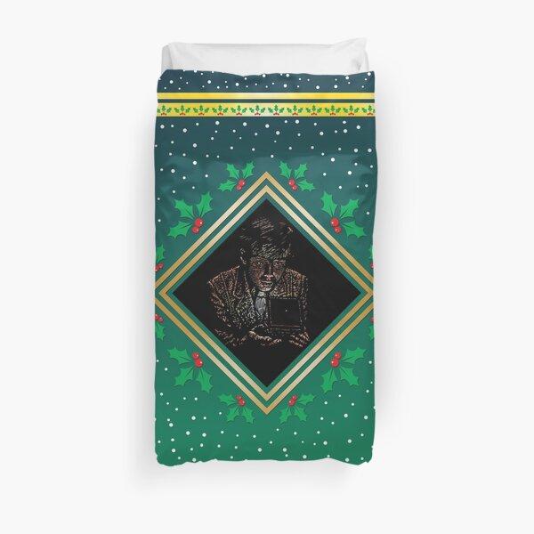 Opening the Box - Green Fresco Duvet Cover