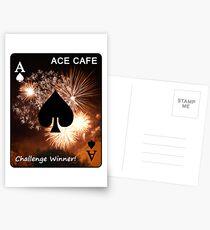 ACE CAFE - challenge winner banner Postcards