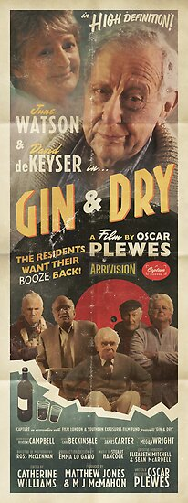 GIN & DRY - Romance Poster by WeAreCapture