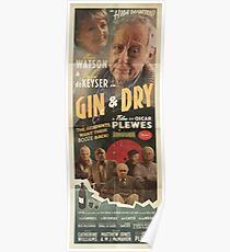 GIN & DRY - Romance Poster Poster