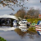 Reflections at Garstang Canal by Darren Kitchen
