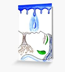 Water Of Life Greeting Card