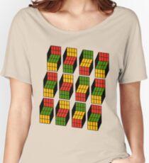 Geek's Cubes Women's Relaxed Fit T-Shirt