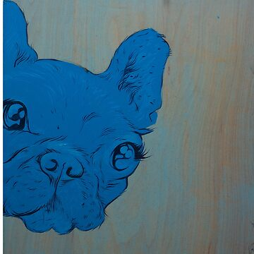 Frenchie's Blue Period by GalletaRaton