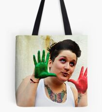 Colouful Opiet  Tote Bag
