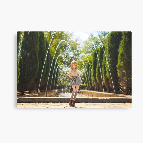 In the park · Coco Canvas Print