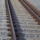 Rails at Guildford WA by TeAnne