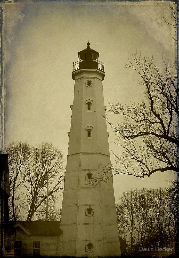 Milwaukee's North Point Lighthouse ©  by Dawn Becker