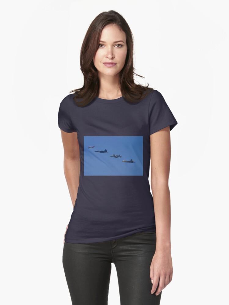 Heritage Flight Womens T-Shirt Front