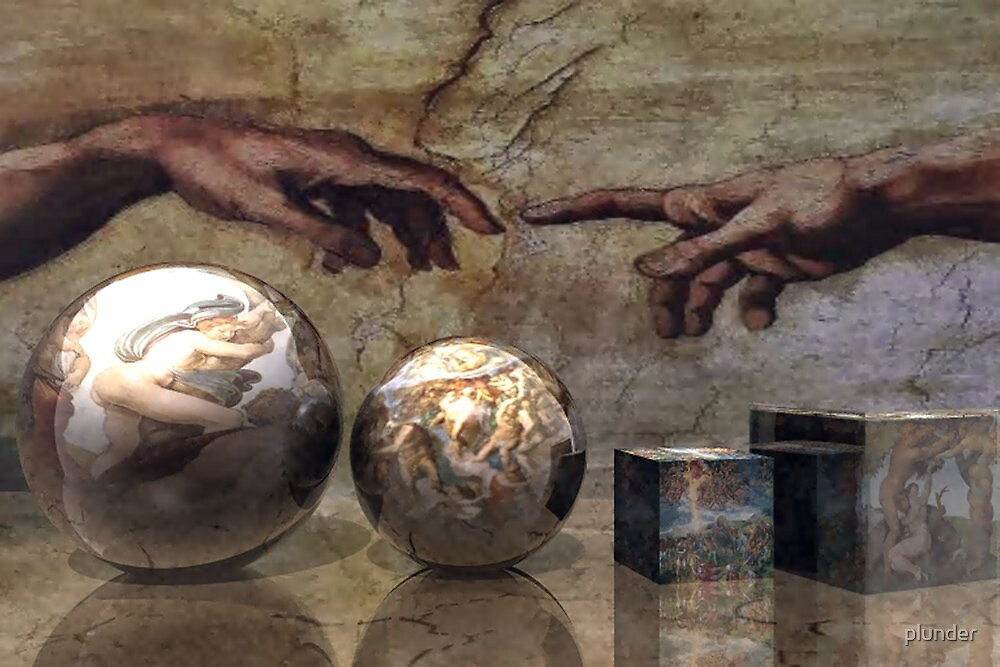 A Tribute to MICHELANGELO BUONARROTI  by plunder