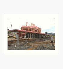 Toowoomba railway station Art Print