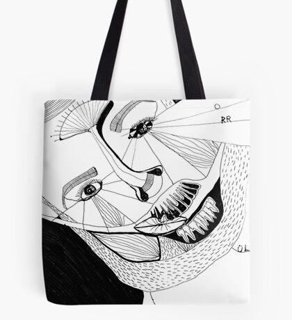 BAANTAL / Hominis ! Faces #12 Tote Bag