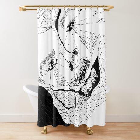 BAANTAL / Hominis ! Faces #12 Shower Curtain